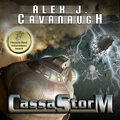 CassaStorm audiobook cover art