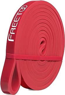 FREETOO フィットネスチューブ エクササイズバンド トレーニングチューブ レギュラータイプ 機器 男性 筋力トレーニング リフティング筋肉 天然ゴム
