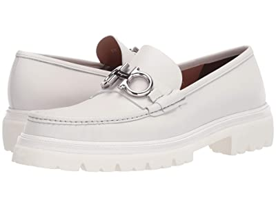 Salvatore Ferragamo Bleecker Loafer (Off-White) Men