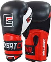 Combat Corner S-Class Boxing Gloves for Men and Women - Kickboxing, MMA, Muay Thai Sparring Training Gloves