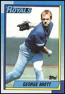 Baseball MLB 1990 Topps #60 George Brett Royals