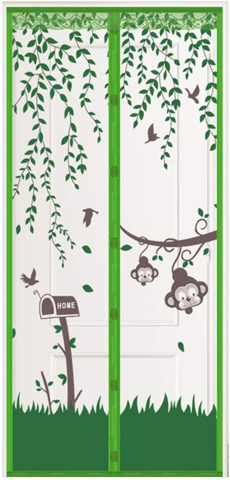 LBBL Magnetic Ranking TOP9 Screen Door,Reinforced Ranking TOP4 Automatic Closing Top-to-