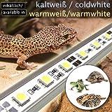[page_title]-OCS.tec LED-Beleuchtung (warmweiß, 60cm) Simulator Steuerung Terrarium/Aquaterrarium/Vivarium Reptilien Amphibien Spinne Insekt TB4WW