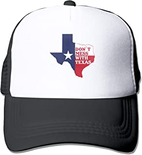 HOTSELL-Makemoney.forever Dont-Mess-with-Texas, Fashion Mesh Hat Adult Cap Unisex Summer Adjustable