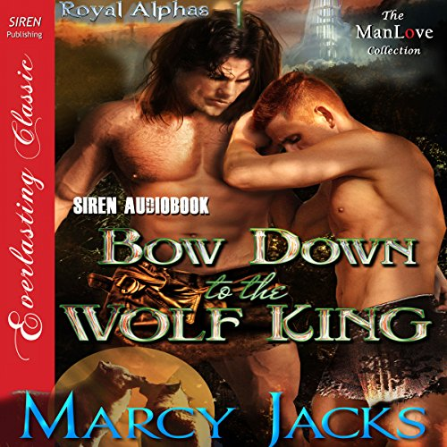 Bow Down to the Wolf King audiobook cover art
