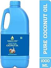 Nature Crest Cold Pressed 100% Pure Coconut Oil, 1L
