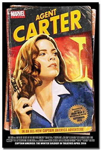 makeuseof Hayley Atwell Agent Carter TV Series Art Silk Poster Print 24x36 002