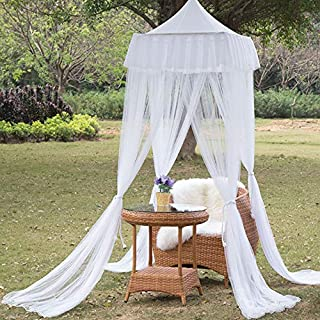 Patio Mosquito Net Canopy, Outdoor Table Umbrella Cover, Insect Bug Screen Barrier, Mesh Netting Curtain