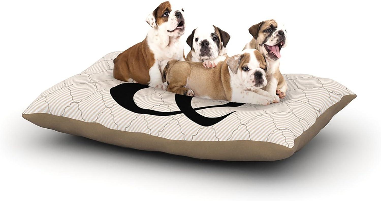 Kess InHouse KESS Original Amperstamp  Dog Bed, 50 by 60Inch