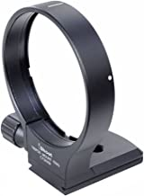 Metal Tripod Mount Ring , iShoot B (W) Lens Collar Support for Canon EF 70-200mm f / 2.8L USM /2.8L IS USM and EF 100-400mm f / 4.5-5.6L IS USM