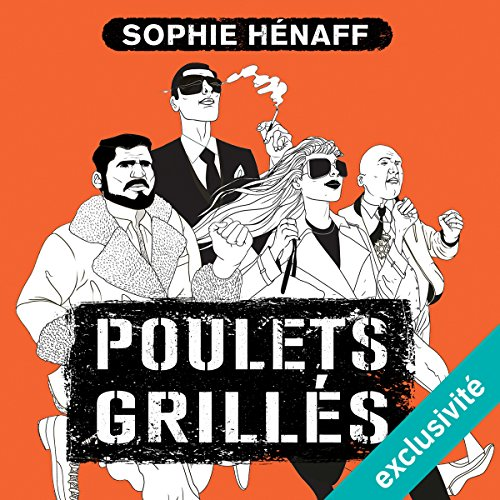 Poulets grillés audiobook cover art