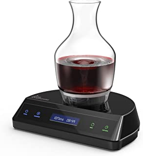 HUMBEE Chef My Sommelier Electric Wine Aerating Decanter, Black - DB-01-BK