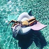 Aufblasbare Pegasus Pool Float Freizeit Schwimmen Spielzeug Spaß Entspannung (240X120CM)