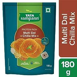 Tata Sampann Multidal Chilla Mix Pouch, 180 g