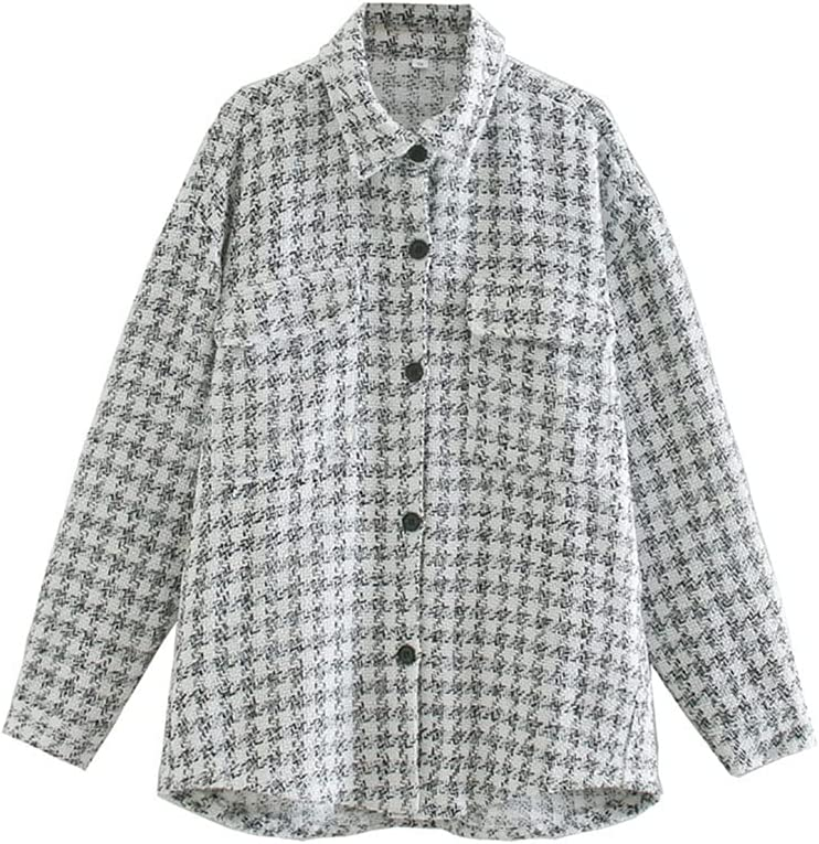 Autumn Stylish Chic Texture Plain Tu Industry No. 1 Jacket Women Shirt Arlington Mall Fashion