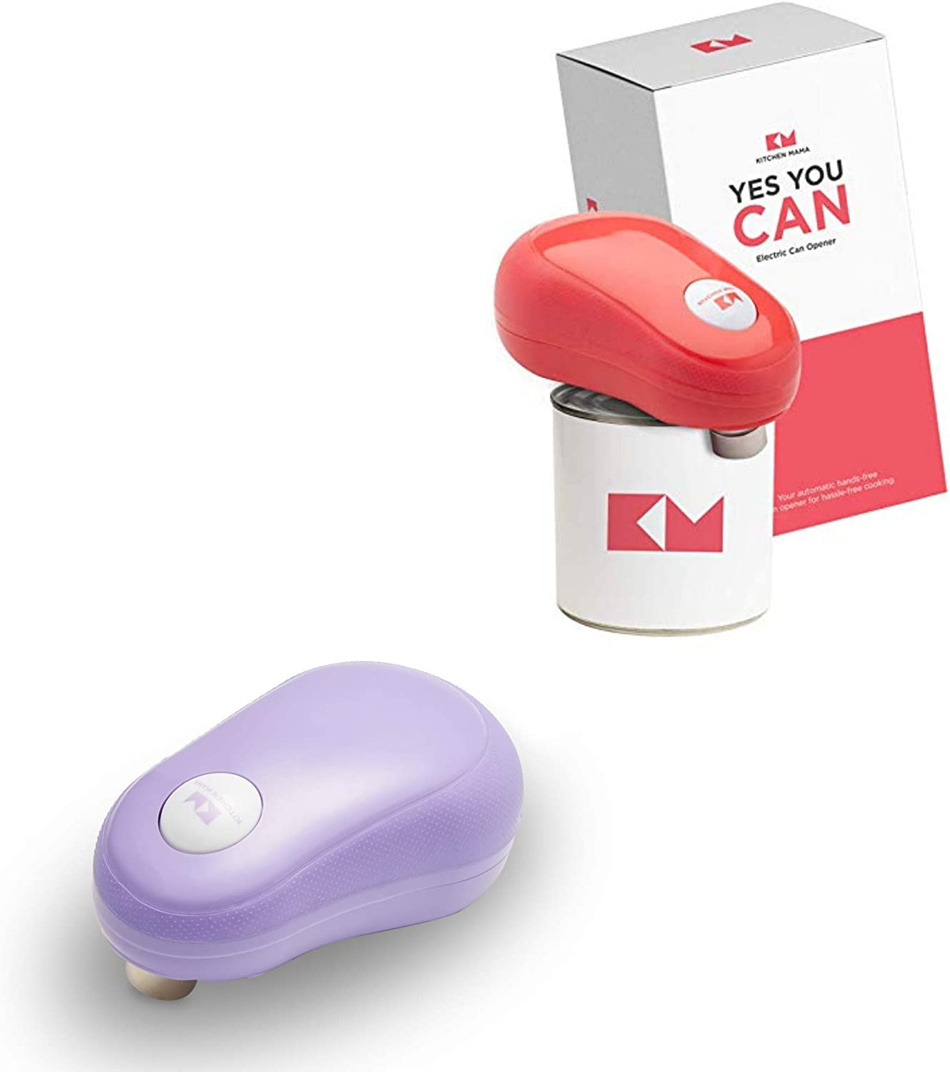 Kitchen Mama One Touch Can Opener: A Open 送料無料激安祭 Push Cans OUTLET SALE with Simple
