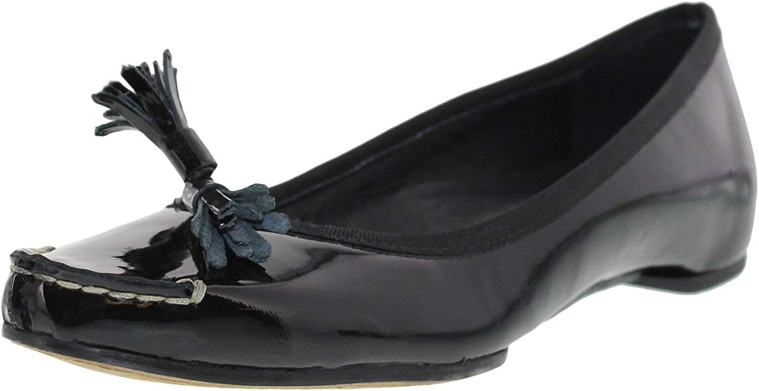 Donald J Pliner Women's Becan-26 Ankle-High Patent Leather Flat shoes