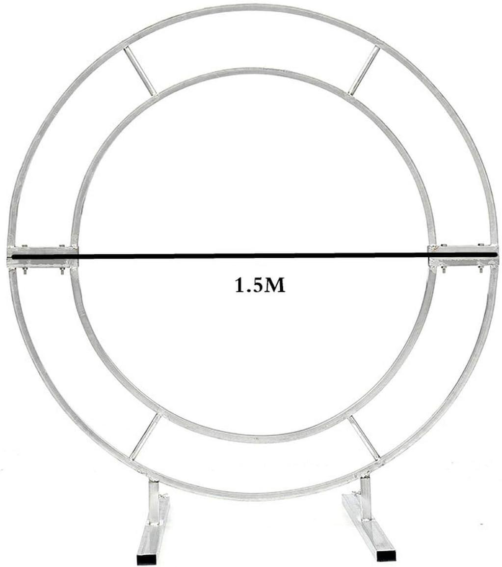 Funlife-Shop Circle Arch Framework Round Me Max 75% OFF Metal Max 90% OFF Wedding