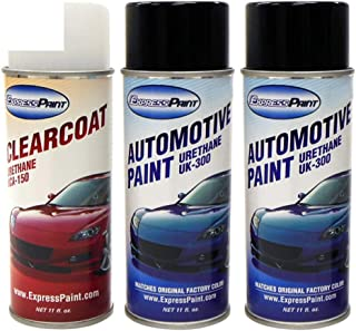 ExpressPaint Aerosol - Automotive Touch-up Paint for Toyota Avalon - Blizzard Pearl Tricoat 070 - Color + Clearcoat Package