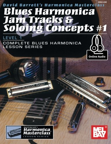 Blues Harmonica Jam Tracks & Soloing Concepts #1 (Harmonica