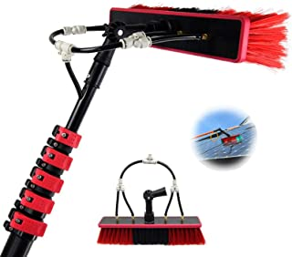 3.6-11M Water Fed Telescopic Brush Cleaning Photovoltaic and Solar Panels Washing Set, for Photovoltaic Panel Cleaning, Tr...
