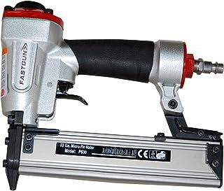 Clavadora Neumática FASTGUN P630 para agujas 0,6 mm y hasta 30 de largo + 1.000 Puntas + Maletín - Especial Tapetas