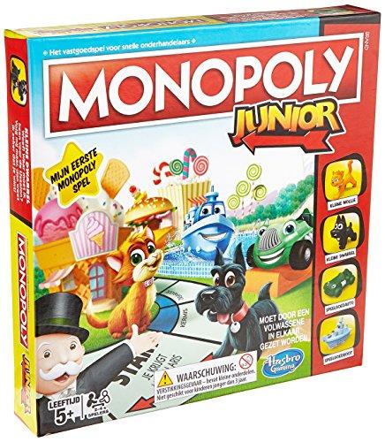 Hasbro Monopoly Junior Niños Adultos Simulación