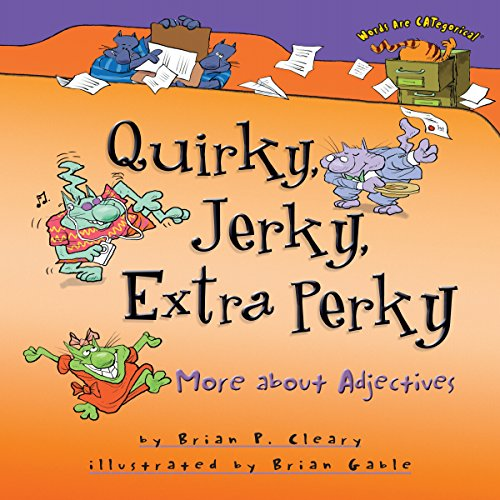 Quirky, Jerky, Extra Perky audiobook cover art