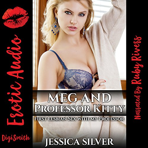 Meg and Professor Kitty audiobook cover art
