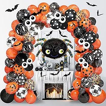 125-Pieces Halloween Balloon Garland Arch Kit