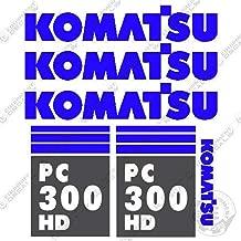 Komatsu PC 300 HD 7 Excavator Decals