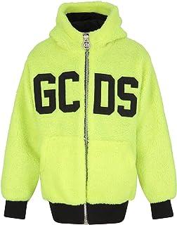 GCDS - Giacca Gialla Fluo per Bambini con Logo