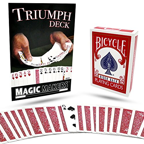 Magic Makers Triumph Card Deck with Instructional Magic Training