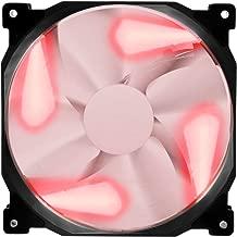 Phanteks Series Premier 140mm LED Case Cooling Fan PH-F140SP_BK_RLED Red