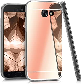 kwmobile Crystal Case for Samsung Galaxy A5 (2017) - Soft Flexible TPU Silicone Protective Cover - Transparent brown 40720.41