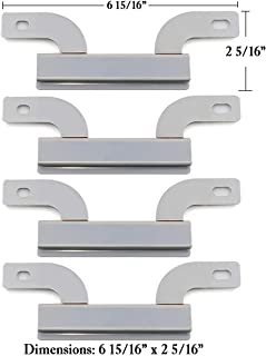 Hisencn Stainless Steel Crossover Tube, Carry Over Tube Pipe Replacement for Gas Grill Models Brinkmann 810-1750-S, 810-9520-S, Backyard Classic GR3055-014684 (6 15/16