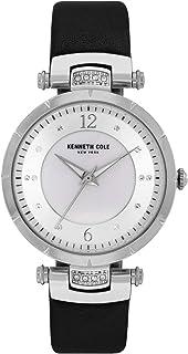 Kenneth Cole Women's Classic Mop KC50963001 Silver Polyurethane Quartz Fashion Watch