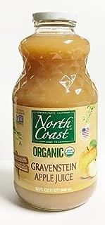 North Coast Organic Gravenstein Apple Juice - No Added Sugar 32 oz.