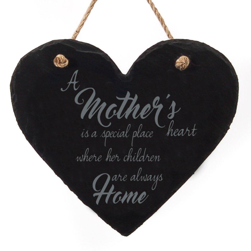 Pizarra corazón colgante grande - un corazón es detector de firmar un lugar especial. Regalo para un cumpleaños, un aniversario o el día de la madre: Amazon.es: Hogar