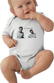 Takeyia Raw Cotton Black Onesies Cartoon Chainsmokers Climb for Baby Boy