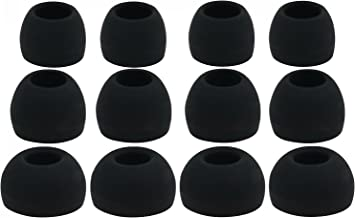 12pcs (ALL-B) 4S / 4M / 4L Replacement Ear Adapters Earbuds Ear Tips Compatible with AKG by Harman N20 N20U, N20 NC, N20 L...