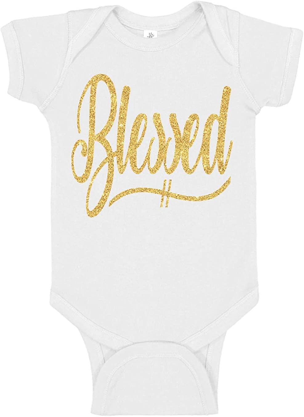 Reaxion Max 79% OFF Aiden's Corner - Handmade Gold Blessed White Max 90% OFF or Bodysuit