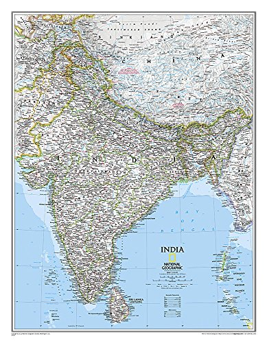 Download India Classic (National Geographic Reference Map) 1597750670