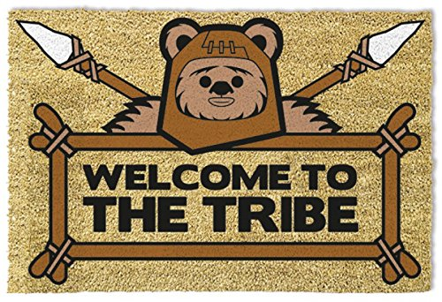 1art1 Star Wars - Welcome To The Tribe Ewok Zerbino (60 x 40cm)