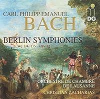 CPE Bach: Berlin Symphonies (2014-01-21)