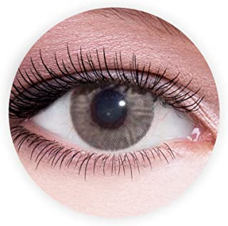 Dahab Lumrirere Brown Contact Lenses, Original Unisex Dahab Cosmetic Contact Lenses, 9 Months Disposable- Natural and Beau...