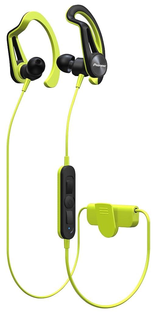 鳥トピッククラブパイオニア Pioneer SE-E7BT Bluetoothスポーツイヤホン 防滴仕様 イエロー SE-E7BT(Y) 【国内正規品】