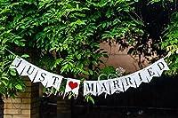 ガーランド 結婚式 前撮り 写真 二次会 ウエディング パーティ JUST MARRIED