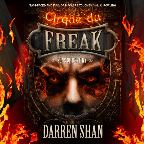 Sons of Destiny                   By:                                                                                                                                 Darren Shan                               Narrated by:                                                                                                                                 Ralph Lister                      Length: 5 hrs and 16 mins     205 ratings     Overall 4.8