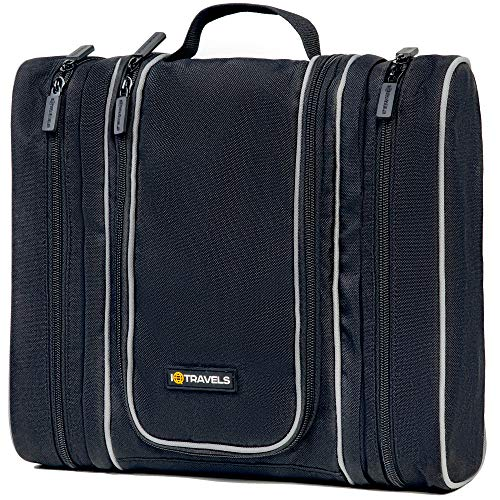 Travel Kit - Hanging Toiletry Bag for Men - Cosmetic Organizer for Men | Travel...